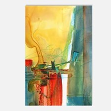 Cute Abstract art Postcards (Package of 8)