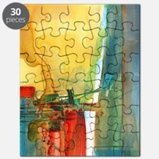Cute Abstract art Puzzle