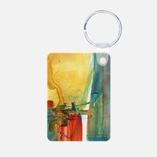 Cute Abstract art Keychains