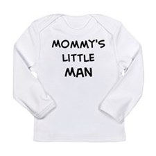Cute Little man taking little break Long Sleeve Infant T-Shirt