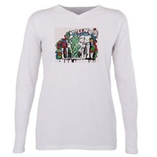 Cool Statue of liberty Plus Size Long Sleeve Tee