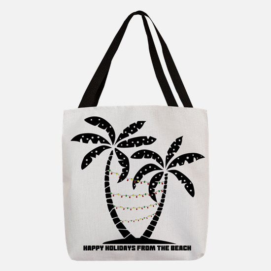 A Beachin Holiday Polyester Tote Bag
