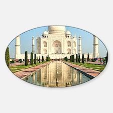 TAJ MAHAL Sticker (Oval)