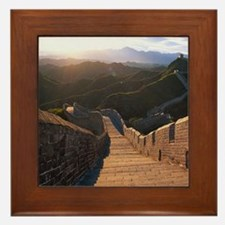 GREAT WALL OF CHINA 2 Framed Tile