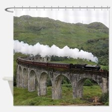 GLENFINNAN VIADUCT 1 Shower Curtain