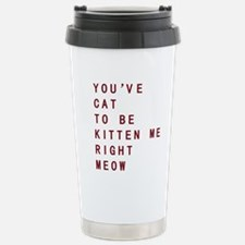 Cute Lady Travel Mug