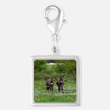 Two Miniature Donkeys (2) Charms
