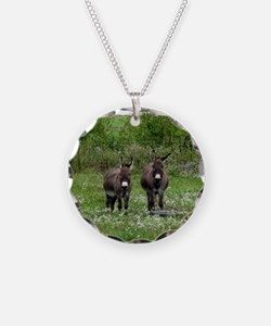 Two Miniature Donkeys (2) Necklace