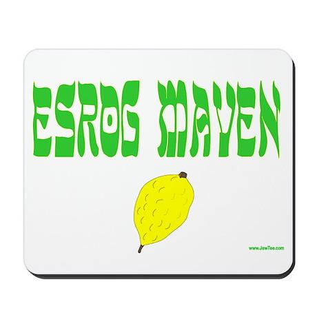 Succos Esrog Maven Mousepad