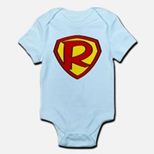 Super R Logo Costume 05 Body Suit