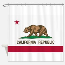 CALIFORNIA BEAR Shower Curtain