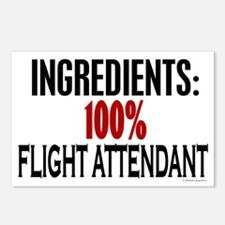 Ingredients: Flight Attendant Postcards (Package o