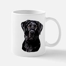 Black Labrador Retriever Head Mugs