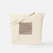 Teach Evolution Tote Bag