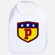Super P Logo Costume 03 Bib
