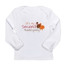 Cool Second baby Long Sleeve Infant T-Shirt