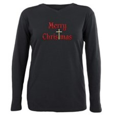 Cute Merry christmas Plus Size Long Sleeve Tee