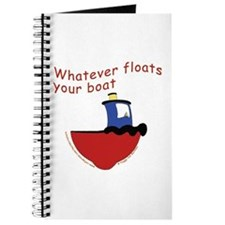 Whatever floats your boat Journal