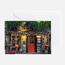 Le Lapin Saute Greeting Card