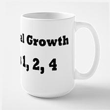 Exponential Growth 1, 2, 4 Mug
