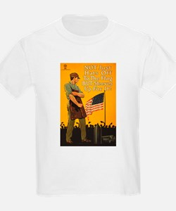 American Flag Sleeves Up WWI Pr T-Shirt