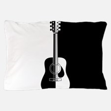 Cool Contemporary Guitar art Pillow Case