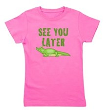 Unique A is for alligator Girl's Tee