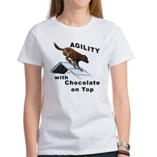 Chocolate Lab Agility Tee