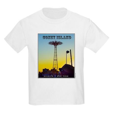 Coney Island Parachute Kids Light T-Shirt