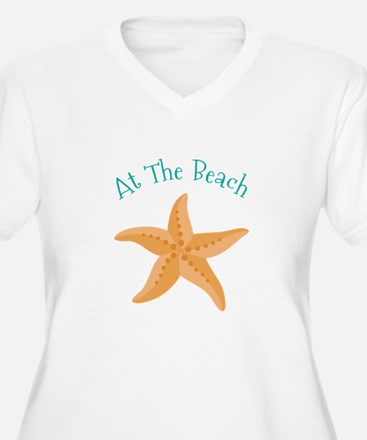 At The Beach Plus Size T-Shirt