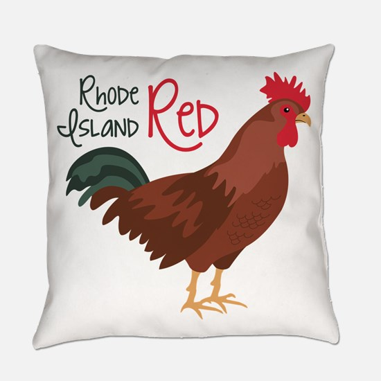 RhoDe IsLaND ReD Everyday Pillow