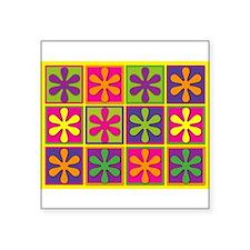 """Cute Brights Square Sticker 3"""" x 3"""""""