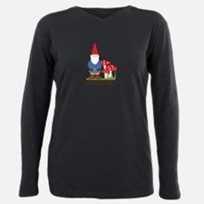 Gnome Territory Plus Size Long Sleeve Tee