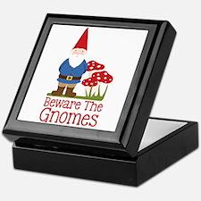 Beware the Gnome Keepsake Box
