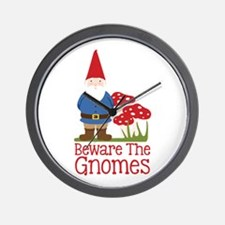 Beware the Gnome Wall Clock