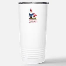 Beware the Gnome Travel Mug