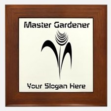 Custom Master Gardener Framed Tile