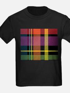 Dark Fall Plaid T-Shirt