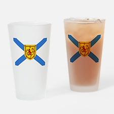 Nova Scotia Drinking Glass
