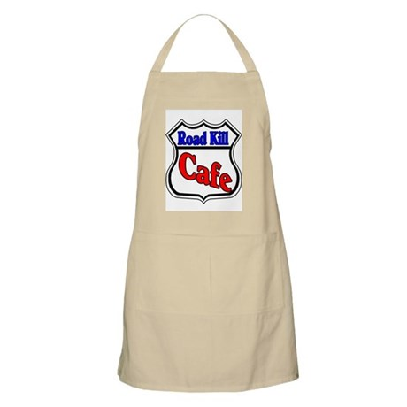 Road Kill Cafe BBQ Apron