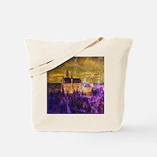 Cute Neuschwanstein castle Tote Bag