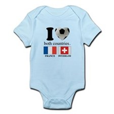 FRANCE-SWITZERLAND Infant Bodysuit