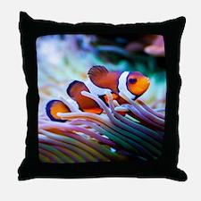 ClownFish20151006 Throw Pillow