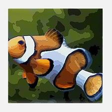 ClownFish20151011 Tile Coaster