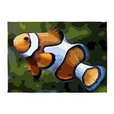 ClownFish20151011 5'x7'Area Rug