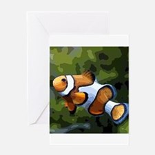 ClownFish20151011 Greeting Cards