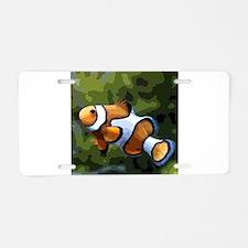 ClownFish20151011 Aluminum License Plate