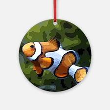 ClownFish20151011 Round Ornament