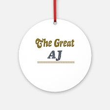 AJ Ornament (Round)
