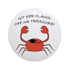 CLAWS OFF! Ornament (Round)